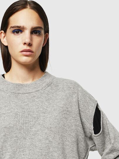 Diesel - M-CRISTAL, Grey - Knitwear - Image 4