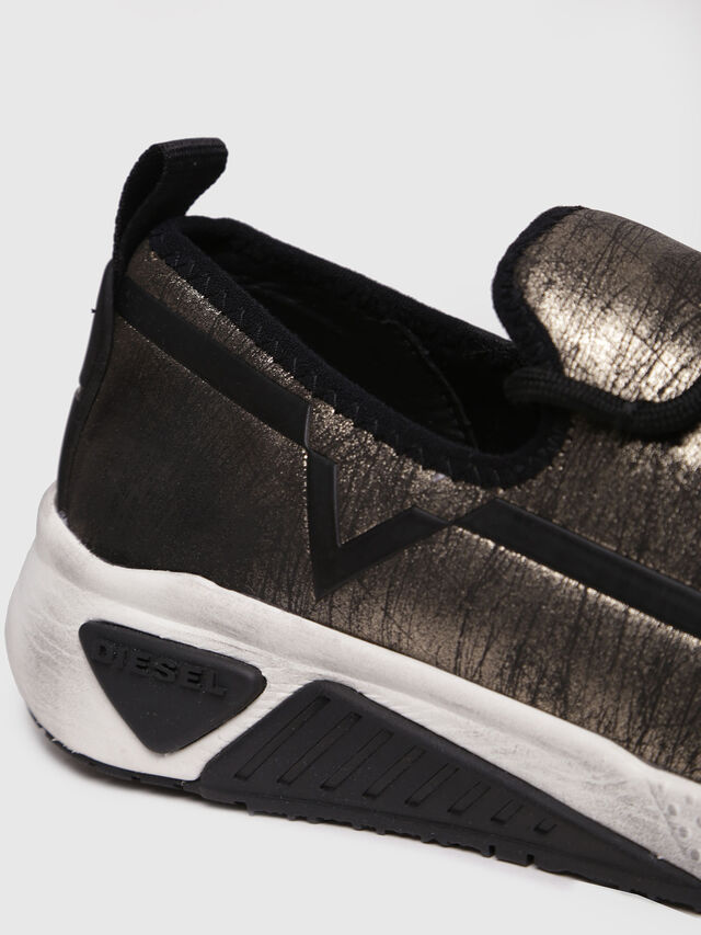 Diesel - S-KBY, Gold/Black - Sneakers - Image 4
