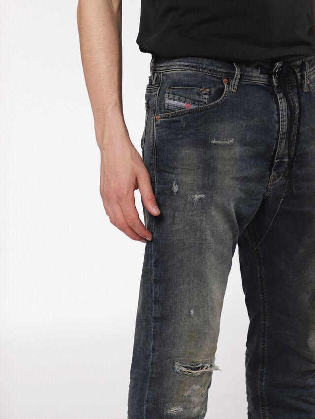 Diesel - Narrot JoggJeans 0699V, Dark Blue - Jeans - Image 3