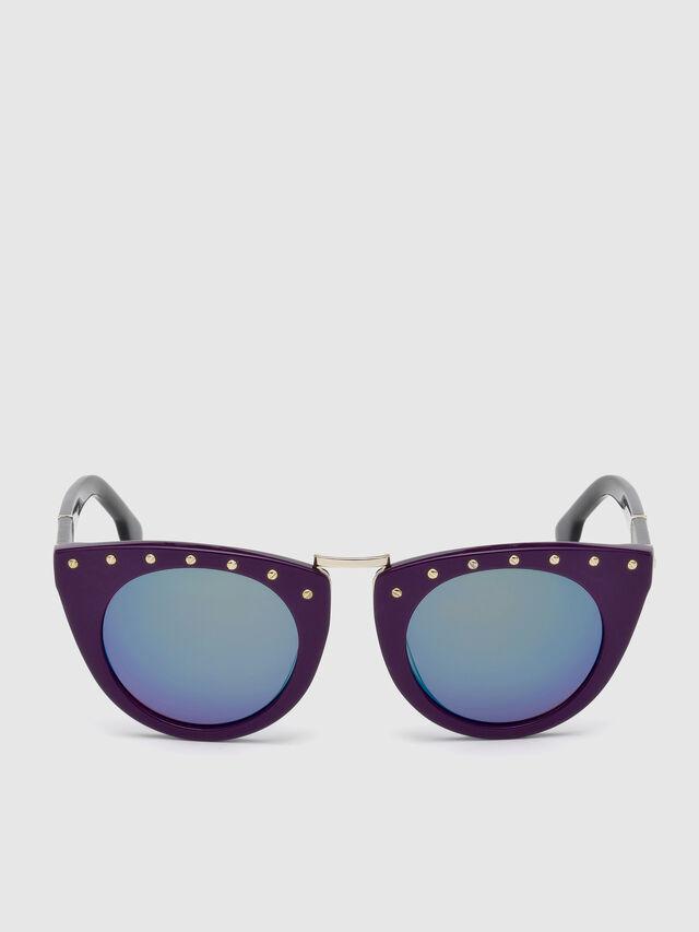 Diesel - DL0211, Violet - Eyewear - Image 1