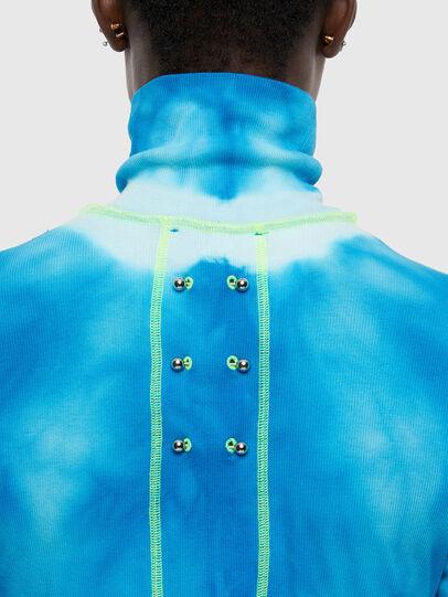 Diesel - T-LAPIS, Blue - T-Shirts - Image 4