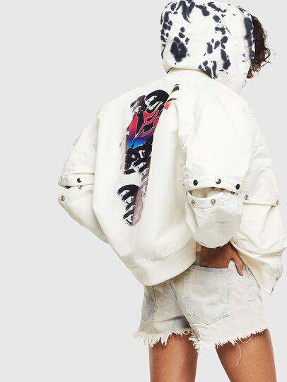 Diesel - G-RAMS, White - Jackets - Image 4