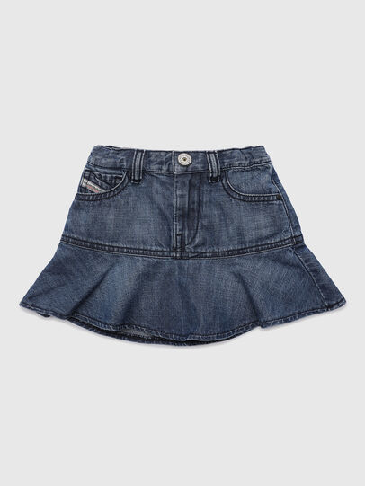 Diesel - GEBETIB, Medium blue - Skirts - Image 1