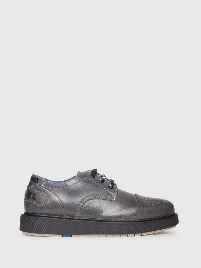 Diesel - D-CAGE DB CT, Grey - Lace Ups and Mocassins - Image 1