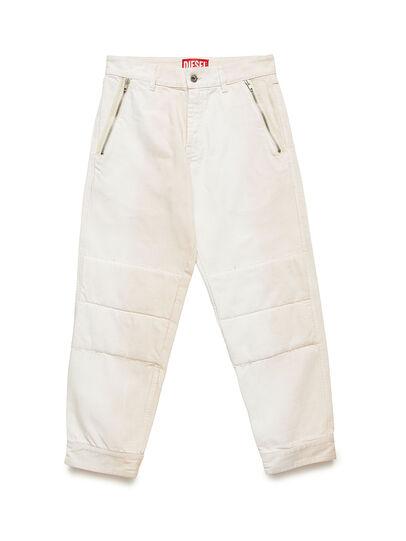 Diesel - GR02-P301, White - Pants - Image 1
