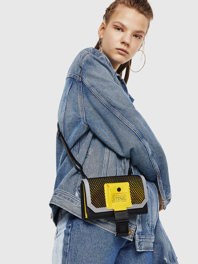 Diesel - DIPSY, Blue/Yellow - Small Wallets - Image 5