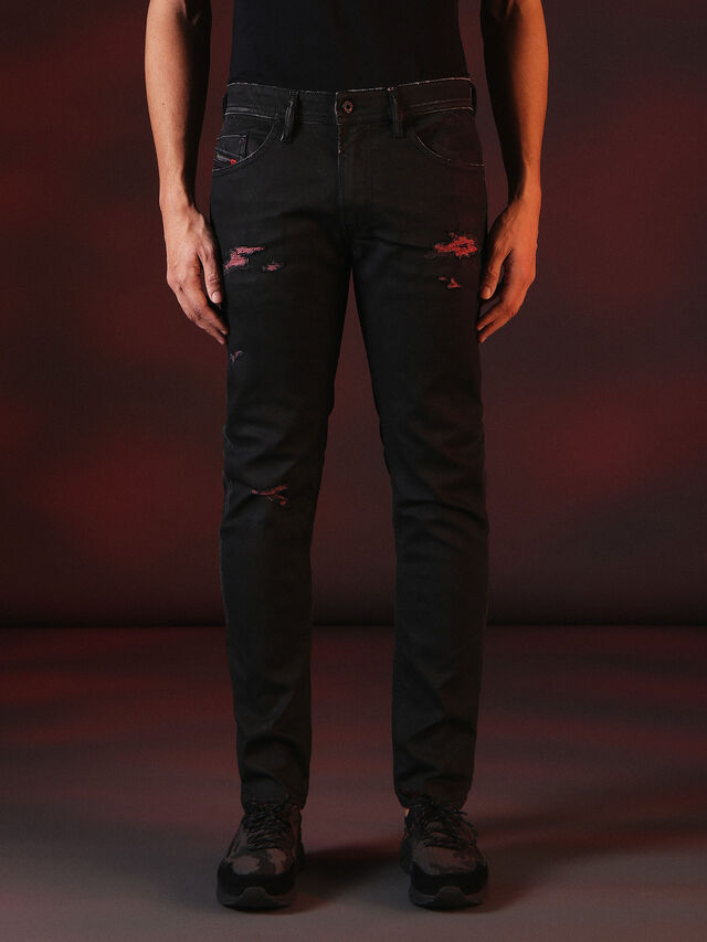 Diesel - THOMMER 084XX, Black - Jeans - Image 2