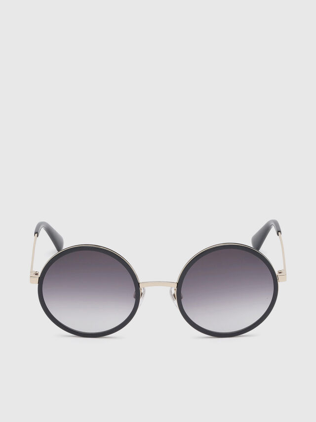 Diesel - DL0276, Black/Gold - Sunglasses - Image 1