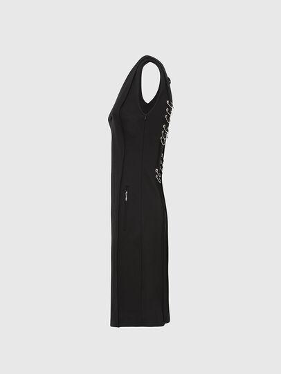 Diesel - D-PHILO, Black - Dresses - Image 3