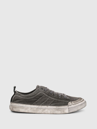 Diesel - S-ASTICO LOW LACE, Dark grey - Sneakers - Image 1