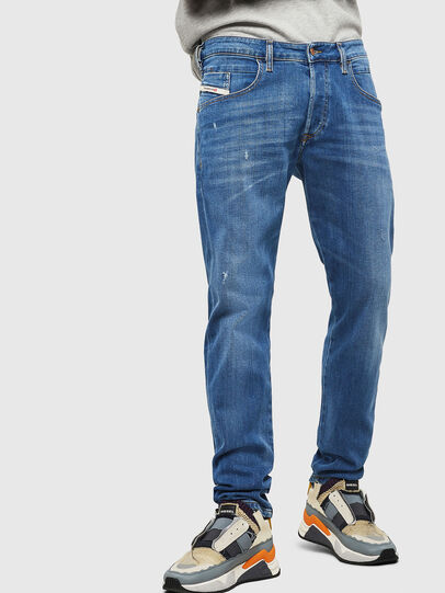 Diesel - D-Bazer 083AX, Light Blue - Jeans - Image 1