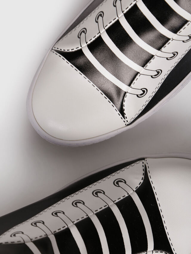 Diesel - S-DIESEL IMAGINEE LOW, Black/White - Sneakers - Image 4
