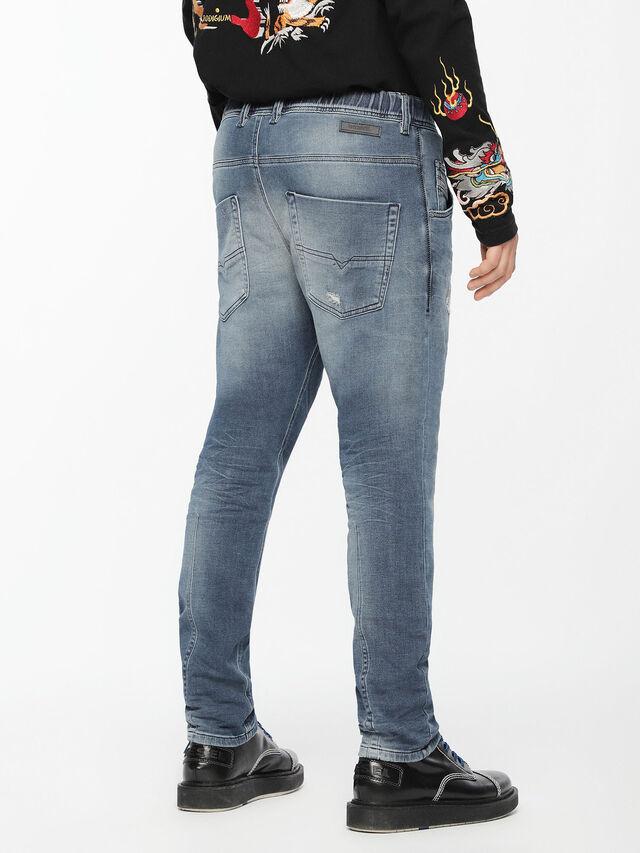 Diesel - Krooley JoggJeans 084UC, Light Blue - Jeans - Image 2