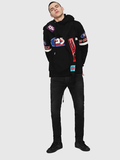 Diesel - Thommer JoggJeans 069FH, Black - Jeans - Image 4