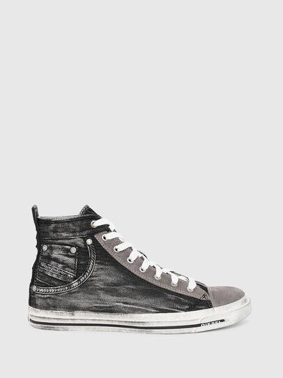 Diesel - EXPOSURE I, Black/Dark grey - Sneakers - Image 1