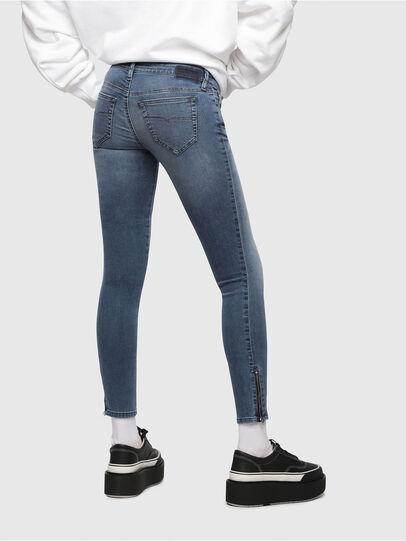 Diesel - Skinzee Low Zip 0681P,  - Jeans - Image 2