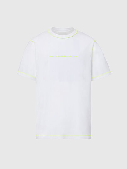 Diesel - T-JUSEAM, White - T-Shirts - Image 1