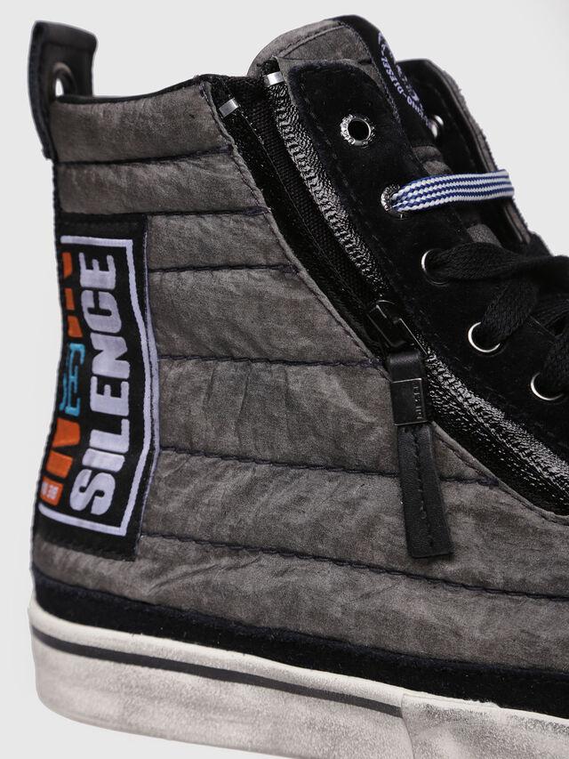 Diesel - D-VELOWS MID PATCH, Gray/Black - Sneakers - Image 4