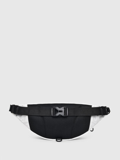 Diesel - F-URBHANITY BUMBAG, Silver - Belt bags - Image 2