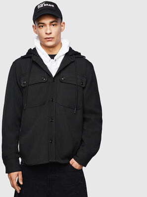 J-JESSY-HOOD, Black - Jackets