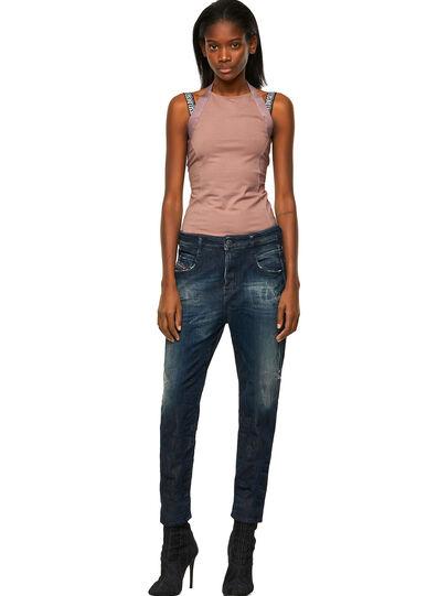 Diesel - Fayza JoggJeans® 09B50, Dark Blue - Jeans - Image 5