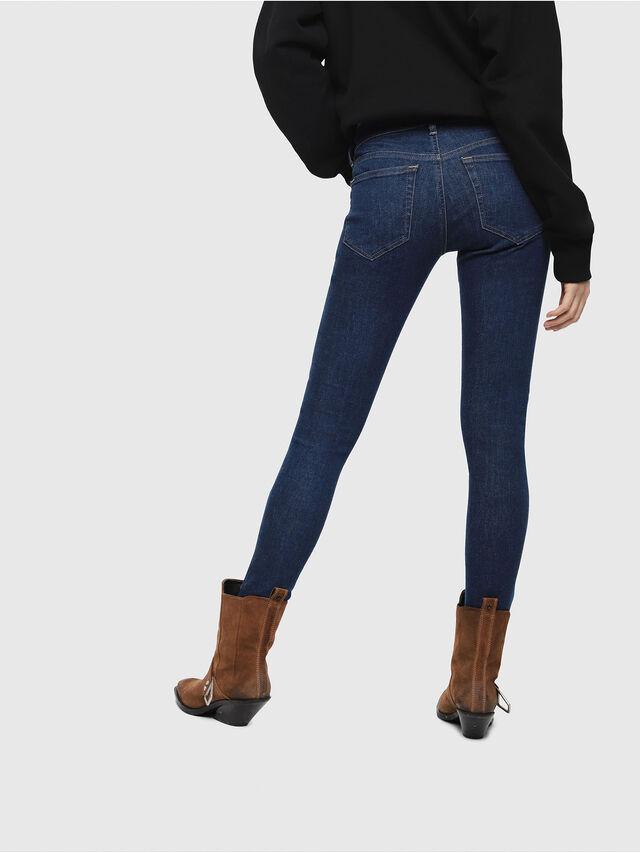 Diesel - Slandy Low 082AA, Medium blue - Jeans - Image 2