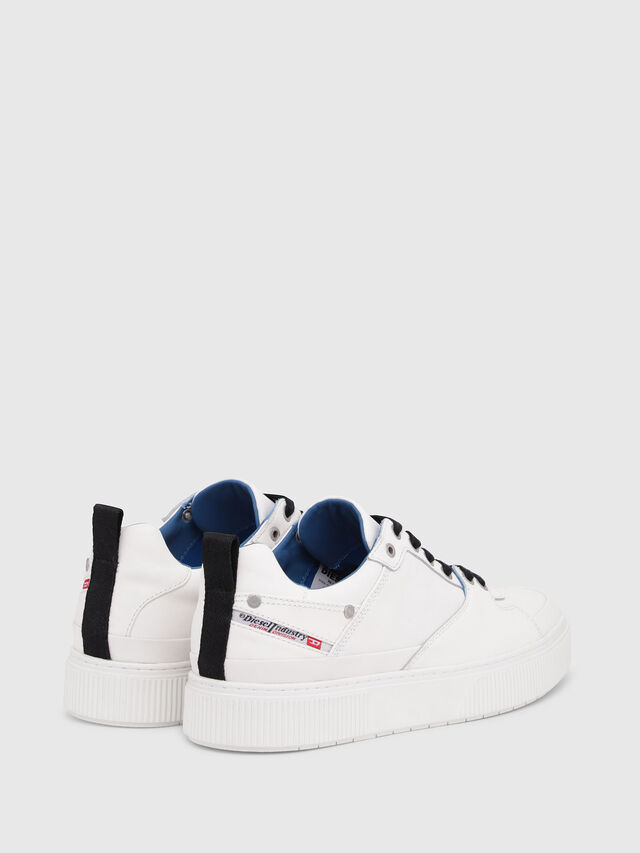 Diesel - S-DANNY LC, White/Blue - Sneakers - Image 3