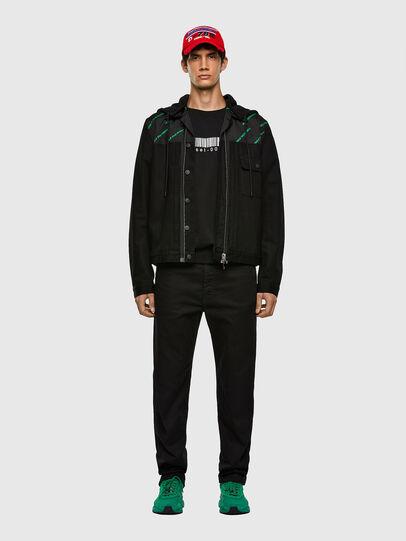 Diesel - D-COSMIC, Black - Denim Jackets - Image 7