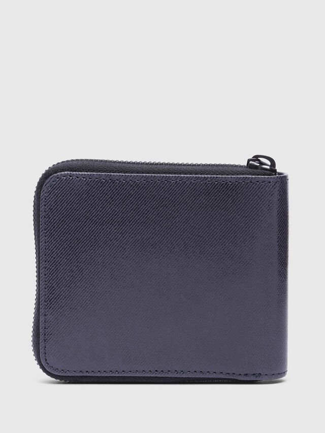 Diesel - ZIPPY HIRESH S WITH, Indigo - Zip-Round Wallets - Image 2