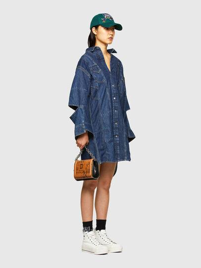 Diesel - CL-DE-BLIV, Dark Blue - Dresses - Image 6