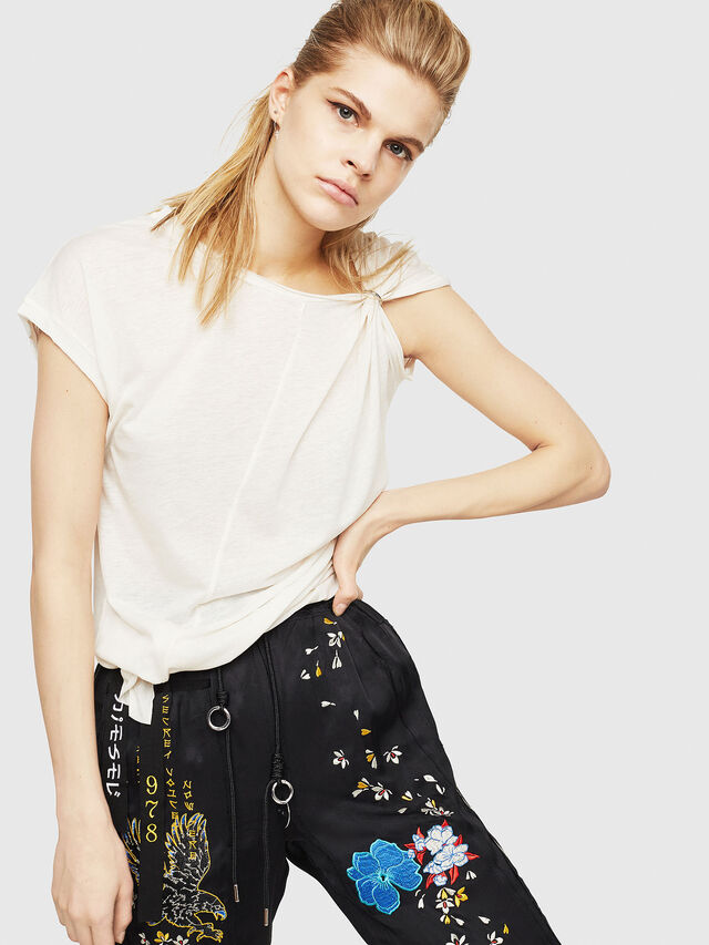 Diesel - T-MILLIE-A, White - Tops - Image 4