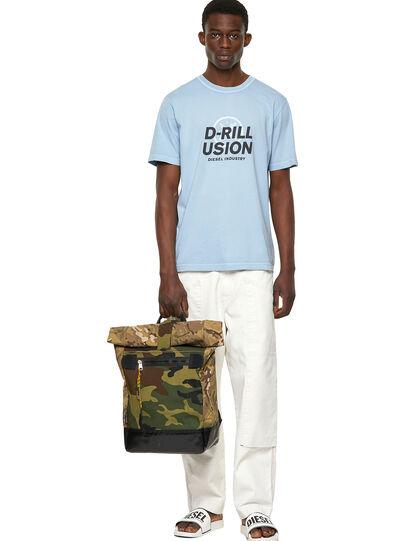 Diesel - T-JUBINDY, Light Blue - T-Shirts - Image 4