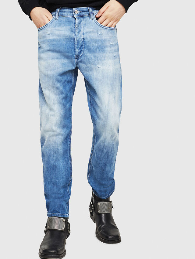 Diesel - D-Eetar 081AS, Medium blue - Jeans - Image 1