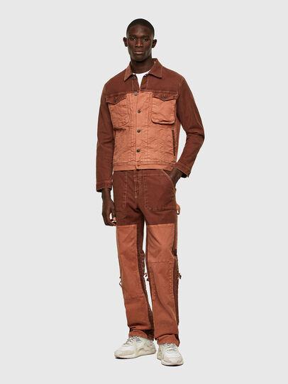 Diesel - D-Franky JoggJeans® 0DDAW, Brown - Jeans - Image 6