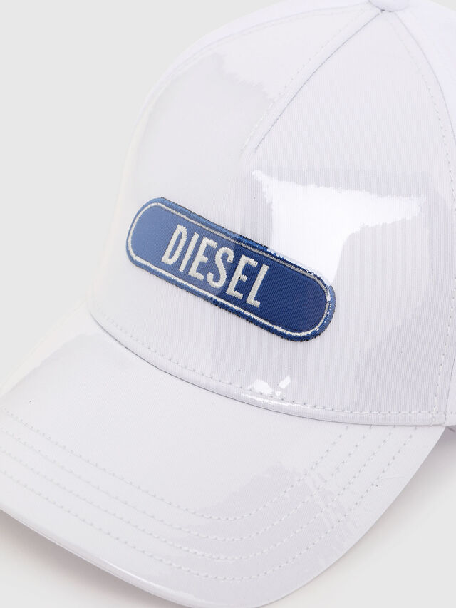 Diesel - C-TRASPY, White - Caps, Hats and Gloves - Image 3