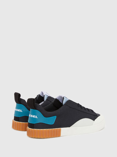 Diesel - S-BULLY LC, Black/Blue - Sneakers - Image 3