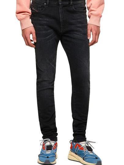Diesel - D-Amny 09A31, Black/Dark grey - Jeans - Image 1