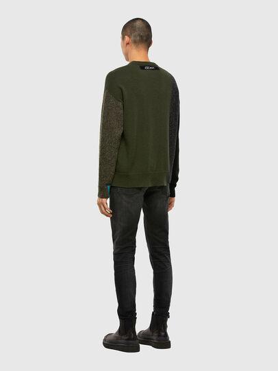 Diesel - K-MOSES, Olive Green - Knitwear - Image 6