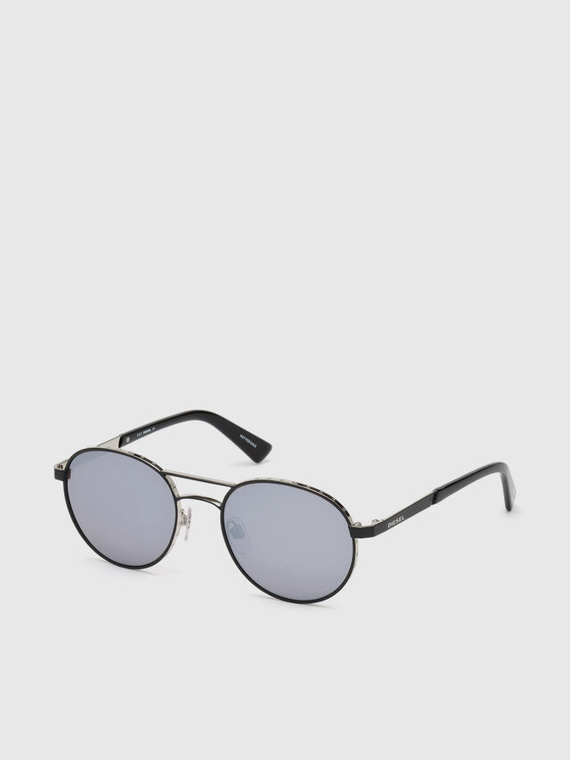 Diesel - DL0265, Black - Sunglasses - Image 2