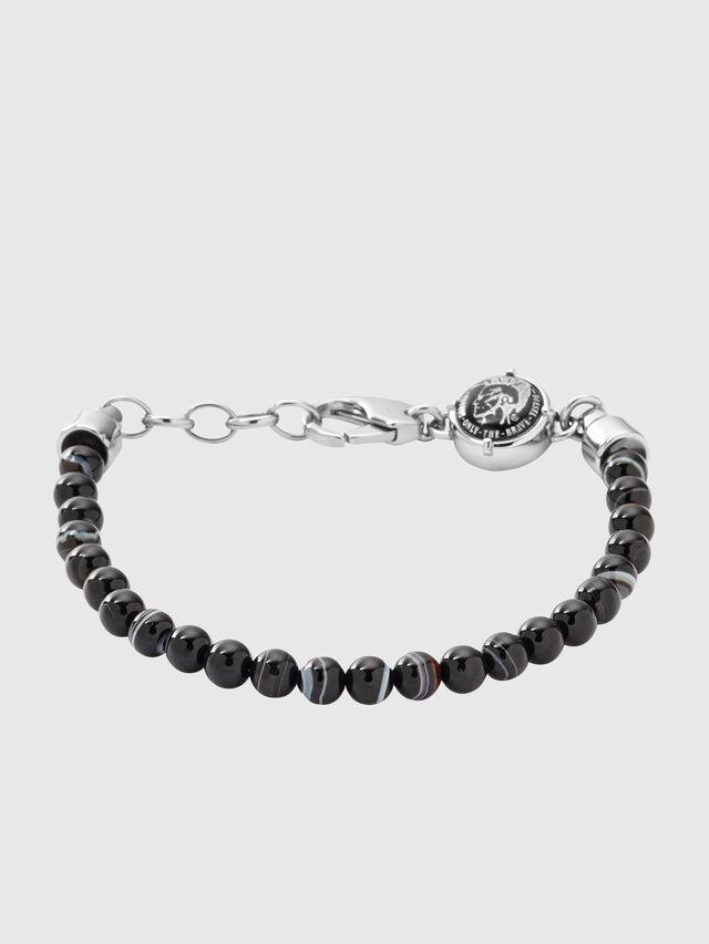 Diesel - BRACELET DX0848, Black - Bracelets - Image 1