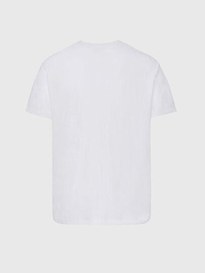Diesel - T-RANIS-NEW2, White - T-Shirts - Image 2