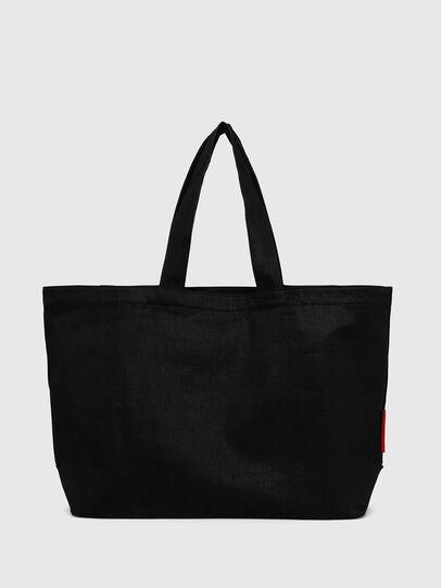 Diesel - D-THISBAG SHOPPER L, Black - Shopping and Shoulder Bags - Image 2