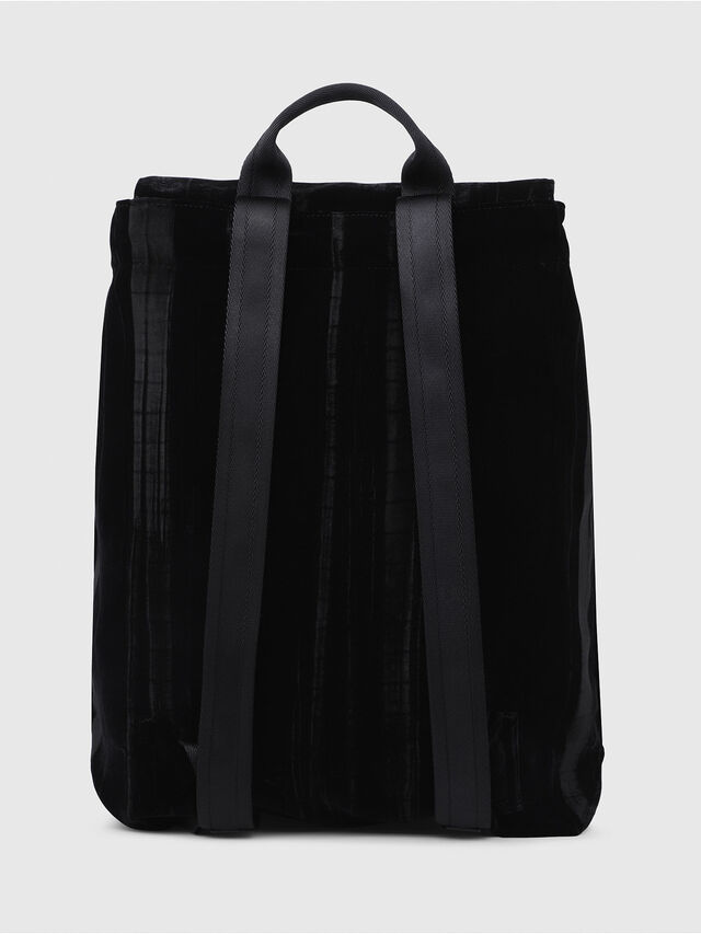 Diesel - F-MUSILE BACKPACK, Black - Backpacks - Image 2