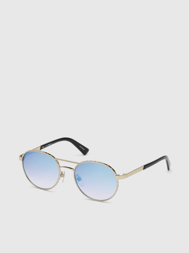 Diesel - DL0265, Gold - Eyewear - Image 2