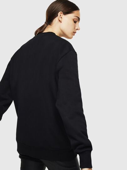 Diesel - S-LINK, Black - Sweaters - Image 4