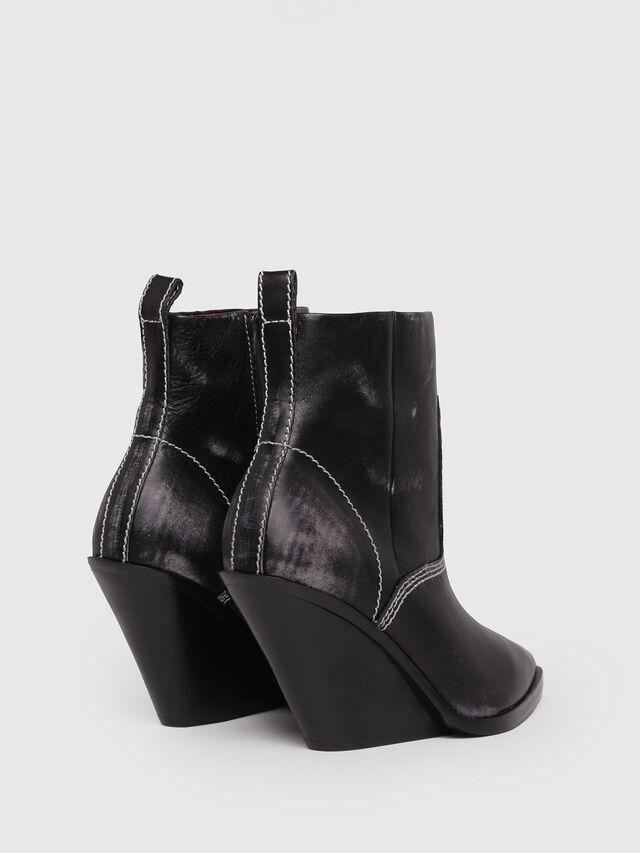 Diesel - D-WEST AB, Black - Ankle Boots - Image 3