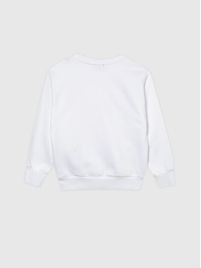Diesel - SCREWDOSKY OVER, White - Sweaters - Image 2