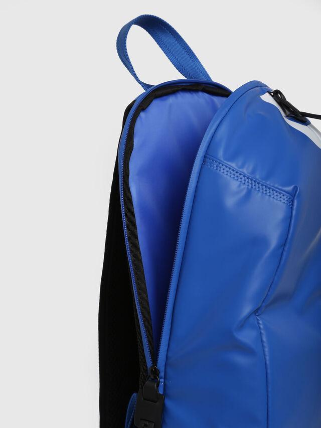 Diesel - F-BOLD BACK, Brilliant Blue - Backpacks - Image 3