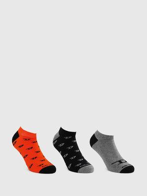 SKM-GOST-THREEPACK, Black/Grey - Socks