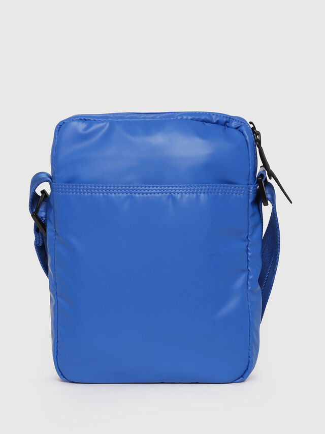 Diesel - F-BOLD SMALL CROSS, Brilliant Blue - Crossbody Bags - Image 2